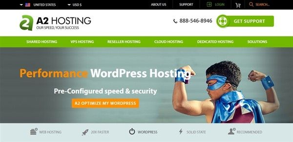 hosting web mejor para wordpress